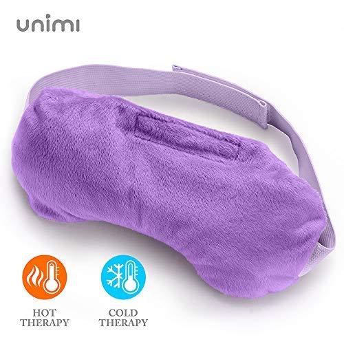 Unimi Lavender Eye Shade, Sleep Eye Mask for Women Men for Puffy Eyes,red Eyes