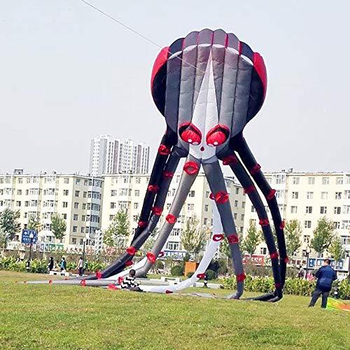 FEN 3D Steinbock Software Riesenkalmar Wind Aliens Aufblasbarer Drachen Oktopus Große Drachen Fliegen Spielzeug Windsack Riesiger weicher Drachen Nylonstange