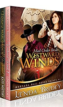 Historical Cowboy Romance 2 Book Box Set - Mail Order brides by [Linda Bridey, Kate Whitsby]