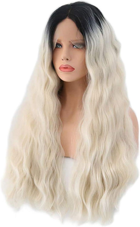 protección post-venta Jiuyizhe - Peluca de de de pelo largo y rizado, de fibra química, para mujer  más vendido