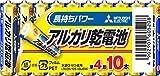 三菱電機 アルカリ乾電池 単4形 10本パック LR03N/10S
