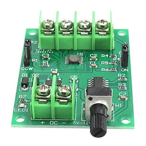 LTH-GD Relais Contrôleur de la Carte de Pilote de Moteur sans Brosse 5V-12V DC pour Moteur de Disque Dur 3/4 Fil 3pcs commutateur de Relais WiFi