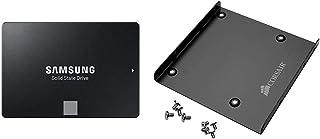 "Samsung 860 EVO 500GB SATA 2.5"" 内蔵 SSD MZ-76E500B/EC 国内正規保証品 + Corsair Dual SSD Mounting Bracket 3.5"" CSSD-BRKT1(メーカー販売正規品)"