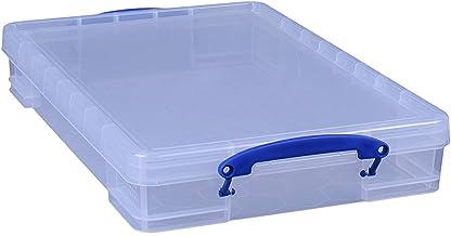 Really Useful Box 3 x 10 litrów - 520 x 340 x 85 mm - do papieru A3 - przezroczysty