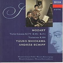 Mozart: Violin Sonatas K. 379, K. 304, K. 454, Variations