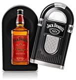 Jack Daniel's - Tennessee Fire Jukebox Case (Hard to Find Whisky Edition) - Liqueur