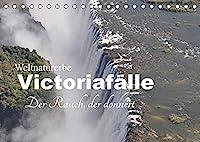 Weltnaturerbe Victoriafaelle - Der Rauch, der donnert (Tischkalender 2022 DIN A5 quer): Die Victoriafaelle sind Afrikas spektakulaersten und schoensten Wasserfaelle (Monatskalender, 14 Seiten )