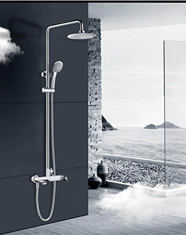 Insbesondere duschen wasserhahn dusche 3 chrome Weiß mix hand dusche set lift dusche düse