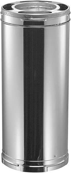 Duravent 6 X 36 Galvanized Class A Triple Wall Chimney Pipe