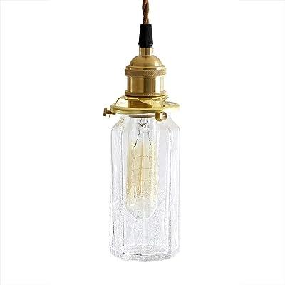 HNZZN Latas de lámpara de mesa de vidrio de color creativo moderno ...