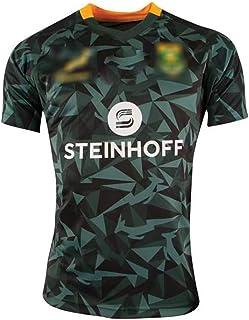 メンズラグビージャージーファン2019南アフリカ100周年記念ラグビー服南アフリカラグビー服、あらゆる種類のスポーツに適しており、短納期