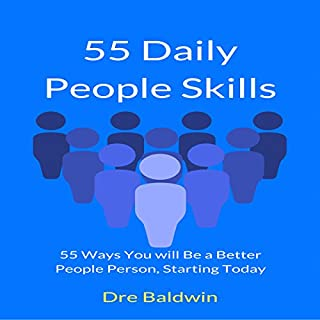 55 Daily People Skills audiobook cover art