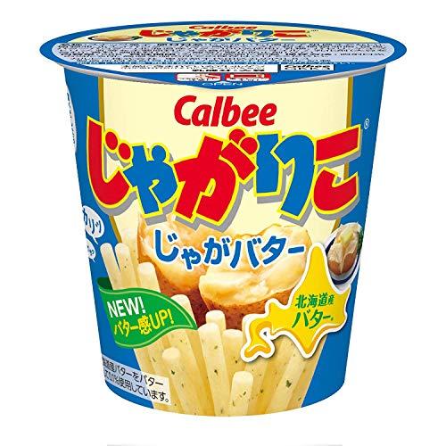 カルビー じゃがりこ じゃがバター 58g × 12個