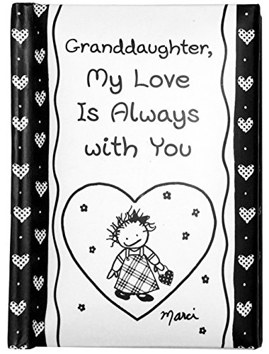 """Blue Mountain Arts Little Keepsake Book""""Granddaughter, My Love Is Always with You"""" 4 x 3 in. Sweet, Sentimental Pocket-Sized Gift Book for Granddaughter, by Marci and the Children of the Inner Light"""