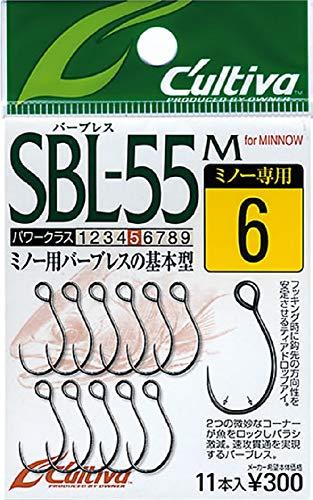 オーナー(OWNER) SBL-55M シングル55バーブレス(ミノー用) 10 11611