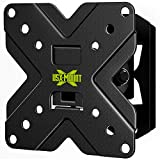 USX MOUNT TV Wall Mount Monitor Mount Bracket with Adjustable Tilt Swivel for 10inch to 26inch LED LCD OLED TVs and Monitors - VESA Size Up to 100x100mm and Weight Capacity Up to 22lbs-XMS002
