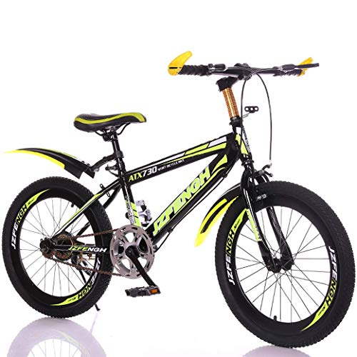 Children's Bicycle 22-inch met variabele snelheid mountainbike, comfortabel zadel, anti-slip pedaal, veilige en gevoelige Brake, Student Portable Bicycle