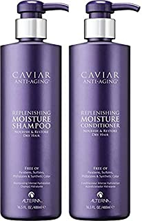 Alterna Caviar Replenishing Moisture Shampoo and Conditioner 16oz