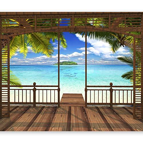 murando Papier peint intiss/é 350x256 cm D/écoration Murale XXL Poster Tableaux Muraux Tapisserie Photo Trompe loeil Architecture Paysage Mer c-C-0020-a-a