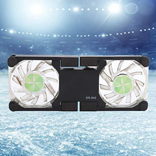 Almohadilla de enfriamiento para computadora portátil, Enfriador de radiador de PC para enfriamiento de computadora portátil para enfriar una variedad de computadoras(black, Pisa Leaning Tower Type)