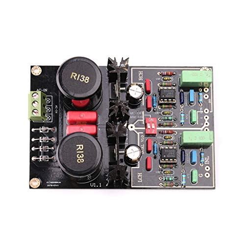 Buy Discount watersouprty Dual Phono Turntable Preamplifier with Selectable MM/MC for Vinyl Record Player