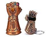 Nidavellir 2-Pack Infinity Gauntlet Bottle Opener Thanos Glove Bottle Opener Fist Beer Bottle Opener and Infinity Gauntlet Keychain Bottle Opener
