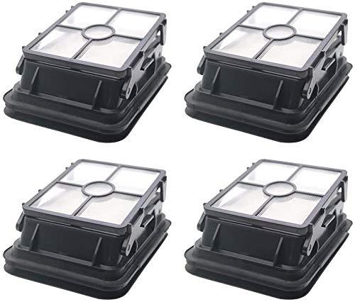 WuYan 4 filtros antipolvo HEPA 1866 para robot aspirador Bissell CrossWave 1785 Serie 1785G 1785V 1785W