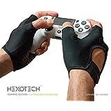 Foamy Lizard ゲーミンググリップグローブ Hexotech Pro Gamer 汗防止指なしタクティカルグローブ コントローラーグリップ用 XboxシリーズX Playstation 5 DualSense用 (グローブ1組) MD