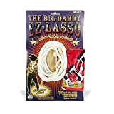 Monkey Business Sports Big Daddy Ez Lasso with Bandanna, White