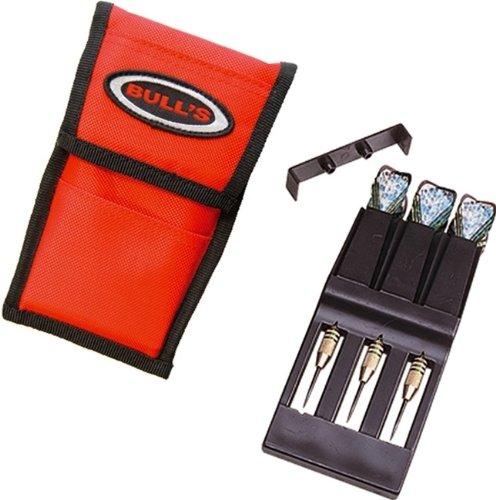 Bull's UP Darttasche Dart Tasche (ohne Inhalt), Farbe:rot