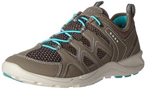 ECCO Damen Terracruise Outdoor Fitnessschuhe, Grau (58440WARM Grey/Dark Clay/Turquoise), 36 EU
