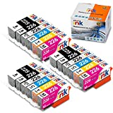Starink Compatible Ink Cartridge Replacement for Canon PGI-225 CLI-226 for Pixma MG8120 MG6120 MG8220 MG6220 Printer (3 PGBK, 3 Black, 3 Gary, 3C/3M/3Y)