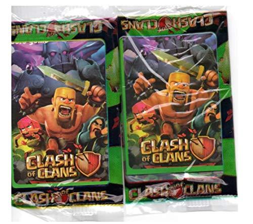 40 cards cartões cartas figurinha Clash of Clans FRETE GRATIS