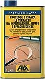 Protección resistente y Consolidante para suelos Fila Salvaterrazza 1 Litro