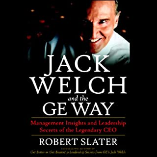 Jack Welch and the GE Way audiobook cover art
