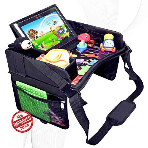 DMoose Kids Travel Activity Tray  Non-Flimsy, Tablet Holder,...