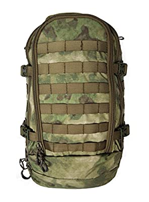 Hank's Surplus Military Style Molle Travel Hiking Camping Day Backpack (A-TACS (FG))
