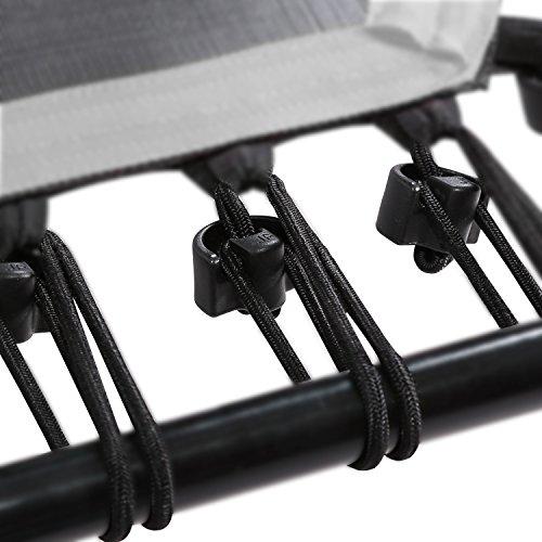 SportPlus 36x Cuerdas de Bungee trampolín de Fitness, Grado de dureza: Fuerte