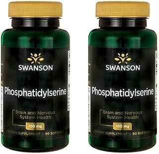 Swanson Phosphatidylserine 100 mg 90 Sgels 2 Pack