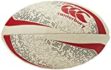 Canterbury of New Zealand Ballon de Rugby Unisexe Mentre Blanc/Vert/Rouge, 4