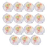 Amosfun 15Pcs Confortevole Uomini Preservativi Sano Preservativi In Lattice Utile Del Sesso Forniture