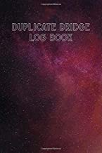 Duplicate Bridge Logbook: A book of log sheets: Perfect for scorekeeping: Retro galaxy cover