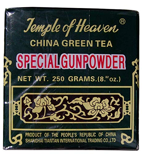 Temple of Heaven - China Green Tea - Special Gunpowder Loose Tea - 8.82 Oz by Temple of Heaven (English Manual)