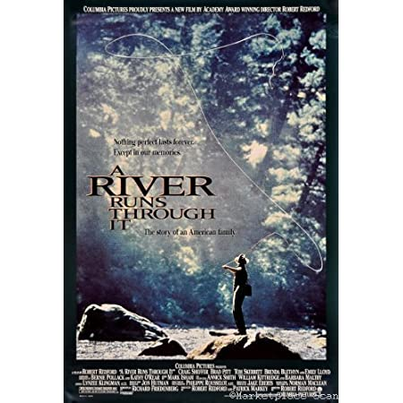 A River Runs Through It  Style G Poster 13x19 inches