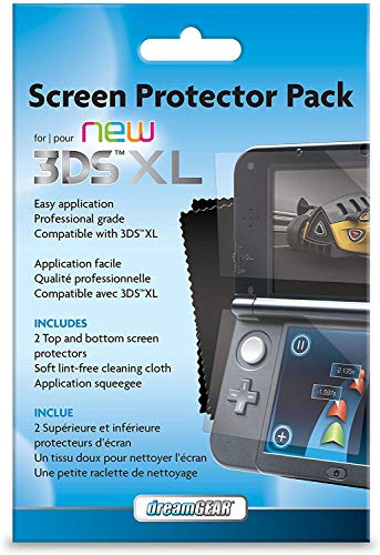 dreamGEAR Screen Protector Pack For your new Nintendo 3DS XL