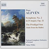 Symphony 2 in D Major / Prodigal Son by ALFVEN (2001-10-16)