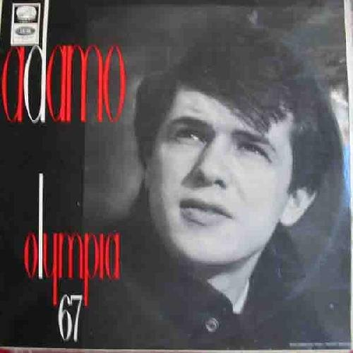 Antiguo vinilo - Old Vinyl .-ADAMO A L'OLYMPIA 67