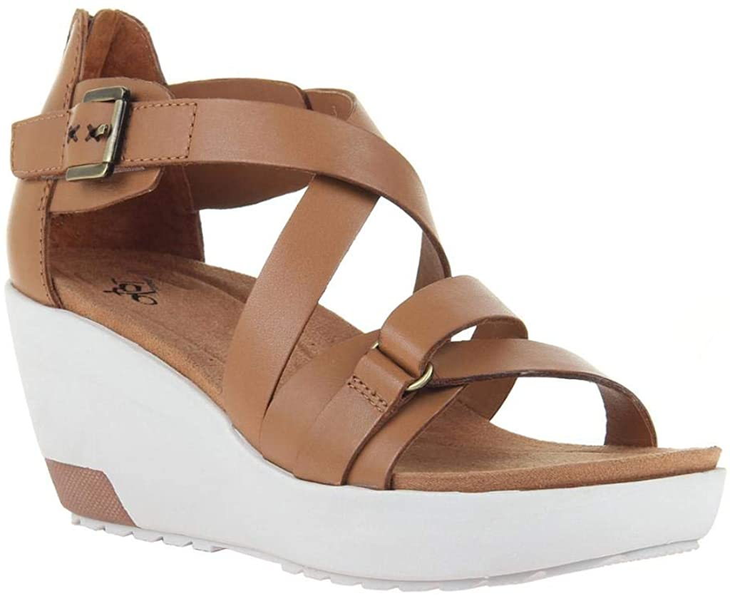 OTBT Safety and trust Women's Teresa Wedge Sandals Gifts