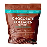Further Food Dark Chocolate Collagen Peptides Powder Plus Reishi Mushroom 56 Servings 8,000 mg of Hydrolyzed Grass Fed,Keto, Paleo, Sugar Free