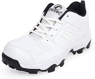 Feroc Blaster All White Cricket Shoes